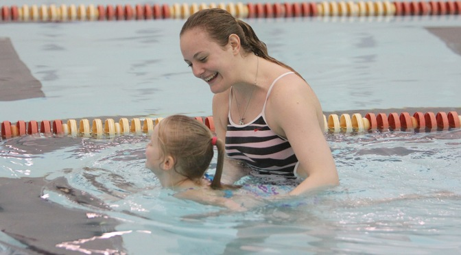 Learn to Swim with the YSU swimming and diving Team
