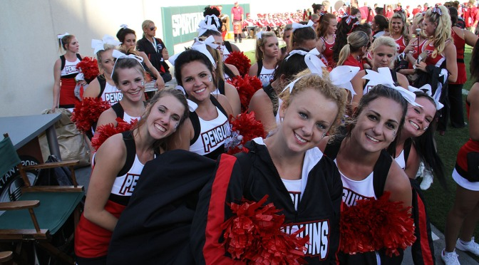 YSU cheerleader battles back-to-back concussions